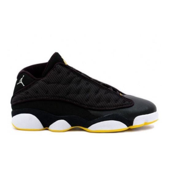 best sneakers c3b11 4deeb 310810-001 Air Jordan 13 Low Black Yellow, Jordans 11 ...